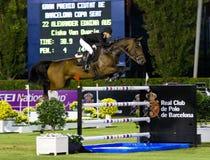 Horse jumping - Edwina Alexander Royalty Free Stock Photography
