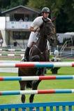 Horse-jumping Grand Prix Bratislava CSIO-W*** 2010 Stock Photography