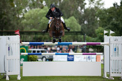 Horse-jumping Grand Prix Bratislava CSIO-W*** 2010 Stock Photos