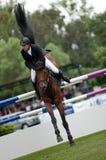 Horse-jumping Grand Prix Bratislava CSIO-W*** 2010 Stock Images