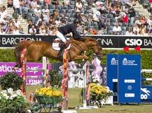 Horse jumping - Pedro Veniss royalty free stock photography