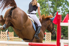 Horse jumping show. Equestrian Sports, Horse jumping, Show Jumping, Horse Riding Royalty Free Stock Photo