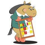 Horse keeps score 008 Stock Images