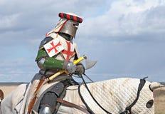 The horse knight Royalty Free Stock Photos