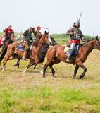 Horse knights Royalty Free Stock Photography