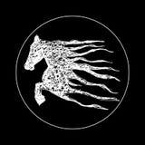 Horse logo, Royalty Free Stock Photos