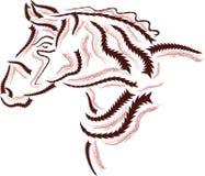 Horse logo Stock Image