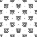 horse logo pattern Stock Images