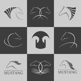 Horse logo Royalty Free Stock Photography