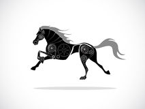 Horse machine Royalty Free Stock Image