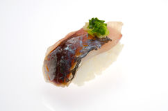 Horse mackerel sushi Royalty Free Stock Images