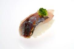 Horse mackerel sushi Royalty Free Stock Images