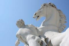 Horse and man Royalty Free Stock Photos