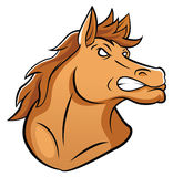 Horse Mascot Royalty Free Stock Photography