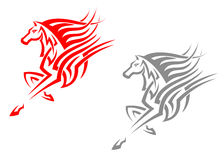 Horse mascots Royalty Free Stock Image