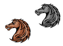 Horse mascots Royalty Free Stock Photography