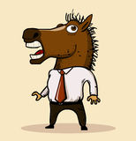 Horse mask 2013 trend Royalty Free Stock Image