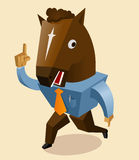 Horse mask trend Stock Photography