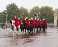 Horse parade at buckingham palace Royalty Free Stock Photo