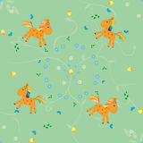 Horse pattern Royalty Free Stock Photography