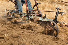 Horse Ploughing Stock Photos