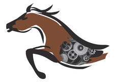 Horse power Royalty Free Stock Photo