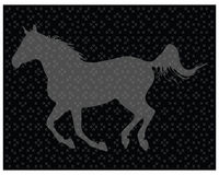Horse on the puzzle Royalty Free Stock Photos