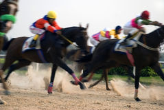 Horse race stock photos