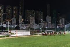 Horse Race, Happy Valley HongKong Stock Images
