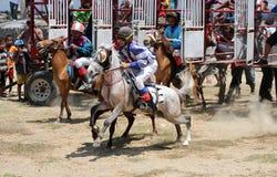 Horse race Stock Photos