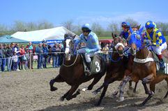 Horse race Stock Photography