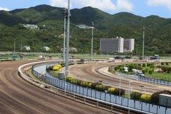 Horse Race Track Stock Photo