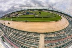 Horse race track at Churchill Downs royalty free stock photos