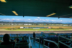 Horse race track Emerald Downs Royalty Free Stock Photo
