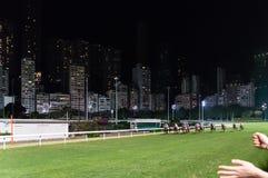 Horse Race Track Happy Valley Stock Photo