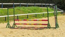 Horse race track at hippodrome Stock Photography