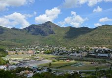 Horse race track. Horserace track of Port Louis, Mauritius Stock Photography