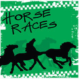 Horse races Stock Photos