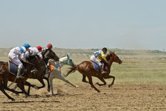 Horse races Stock Photography