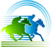 Horse-racing Royalty Free Stock Photo