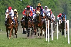 Horse racing Royalty Free Stock Photo