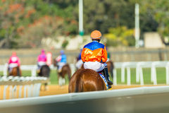 Horse Racing Action Royalty Free Stock Photos