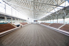 Horse-racing centre of CSKA before competitios Royalty Free Stock Photo