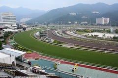 Horse racing course. In Hong ong, Sha Tin Royalty Free Stock Photos
