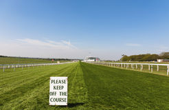 Horse Racing Course royalty free stock photo