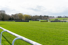 Horse Racing Course Stock Image