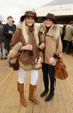 Horse Racing. Fashion at Cheltenham races 17-3-17 Stock Photo
