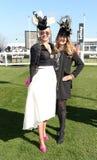 Horse Racing. Fashion at Cheltenham races 15-3-17 Stock Images