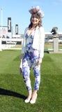 Horse Racing. Fashion at Cheltenham races 15-3-17 Royalty Free Stock Photo