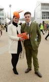 Horse Racing. Fashion at Cheltenham races 17-3-17 Royalty Free Stock Photos
